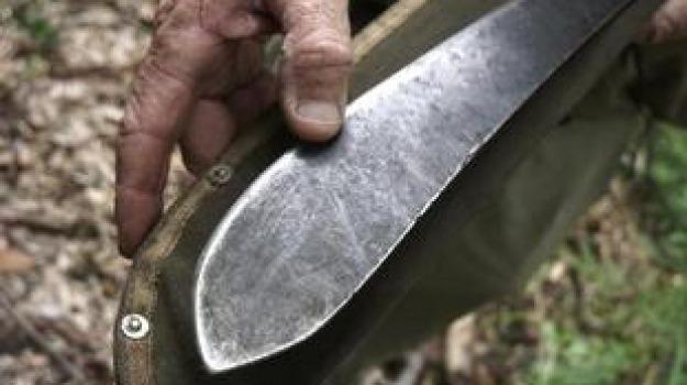 rapina machete corigliano, rapina schiavonea, Cosenza, Calabria, Cronaca