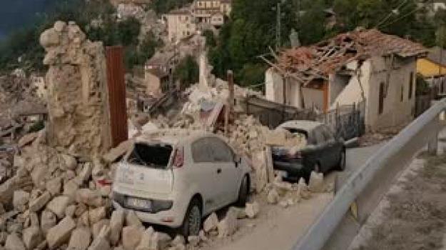 terremoto amatrice, Messina, Archivio