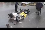 Indagato lo scooterista che si è scontrato con Mazzone