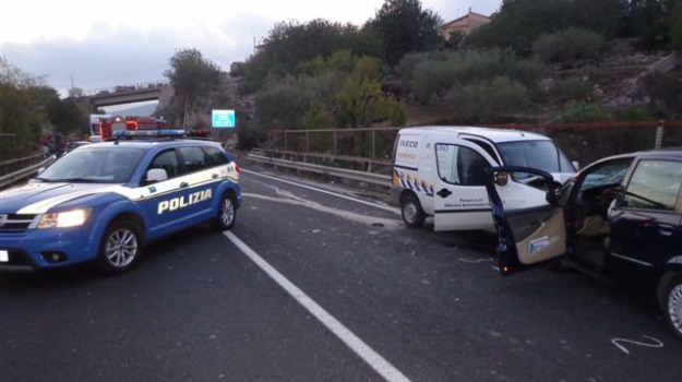 incidente mortale, Samuele Peluso, Statale Ragusa-Modica, Sicilia, Archivio