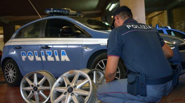 arresto polizia, Furto pneumatici, Paolo Scafidi, vittoria, Sicilia, Archivio