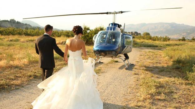 elicottero, nicotera, sposi, vibo valentia, Calabria, Archivio