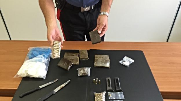 carabinieri, cocaina, droga, due arresti, hascisc, modica, Sicilia, Archivio