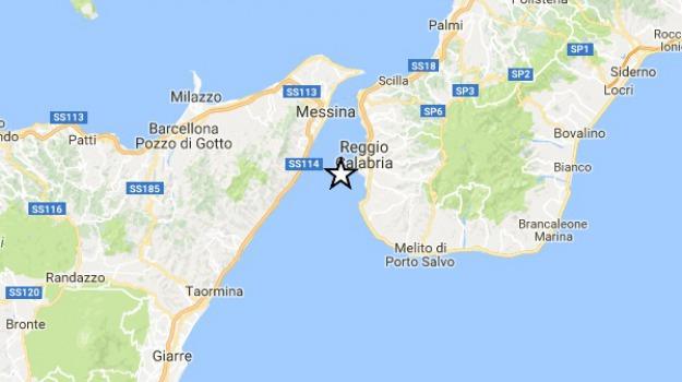 stretto di messina, terremoto, Sicilia, Calabria, Archivio