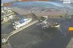 La nave da crociera crea un mini tsunami