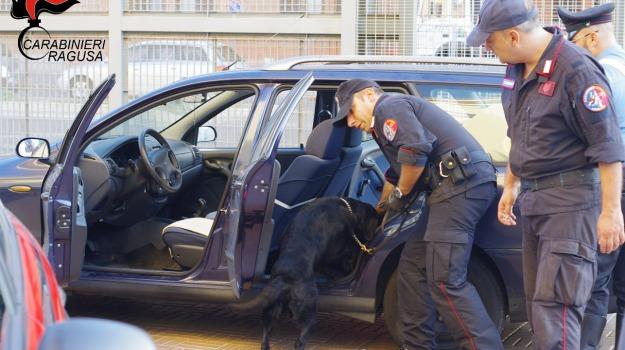 arrestato incensurato, comiso, controlli antidroga carabinieri, dieci dosi marijuana, Sicilia, Archivio
