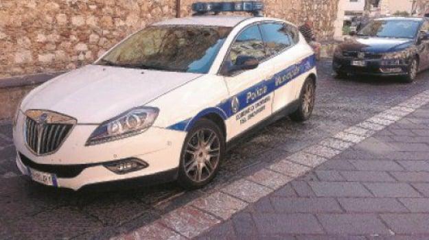 polizia municipale, Messina, Sicilia, Archivio