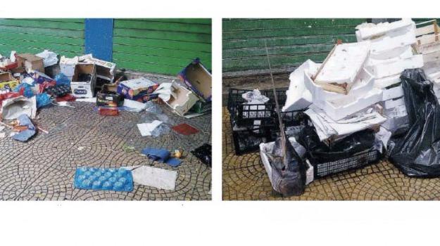 differenziata, mercati, rifiuti, Messina, Archivio