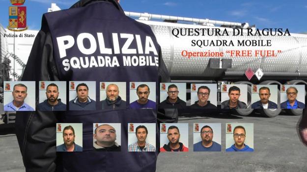 carburanti rubati, ragusa, sedici  arresti, Sicilia, Archivio
