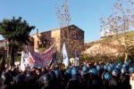 Marcia animalista, tensione con le forze dell'ordine