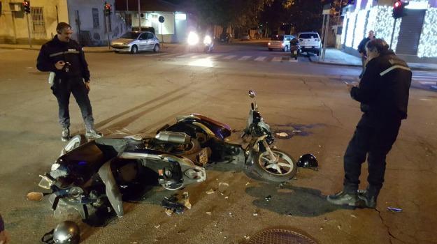 scontro tra scooter, Messina, Archivio