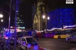 Primi soccorsi dopo attentato a Berlino