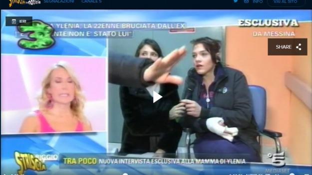 striscia la notizia, ylenia, Messina, Sicilia, Archivio