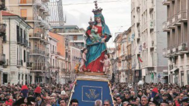 cosenza, festa, madonna del pilerio, patrona, Cosenza, Archivio