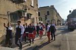 Messina, clamorosa protesta di calciatori e staff