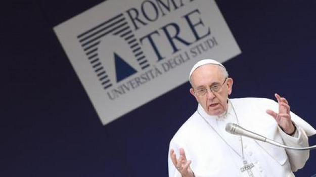 papa francesco, roma tre, Sicilia, Archivio