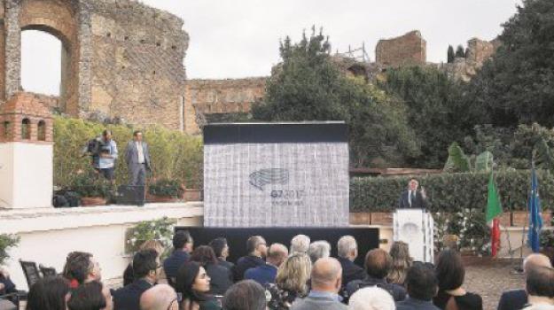 g7, taormina, Sicilia, Archivio