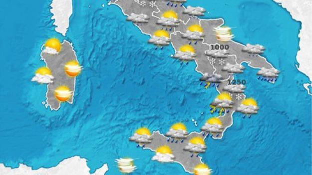 maltempo, sud, Sicilia, Calabria, Archivio