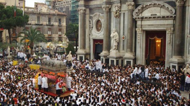catania, festa, messina, palermo, sant'agata, treni speciali, Messina, Sicilia, Archivio