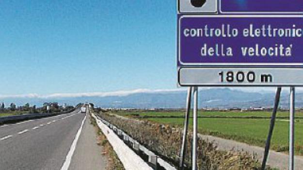 autovelox, statale 534, Cosenza, Calabria, Archivio