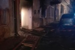 Le foto dell'appartamento devastato dall'esplosione