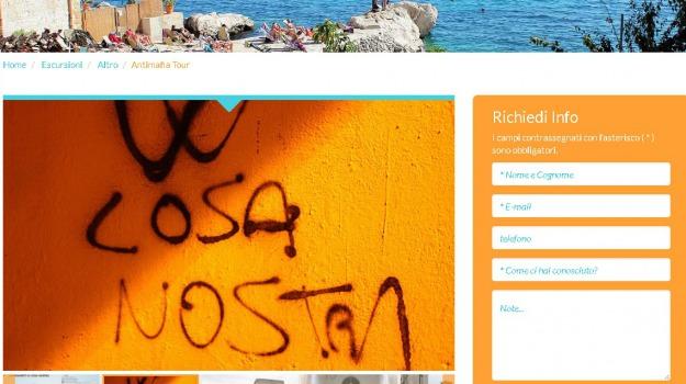 agenzia di viaggi, mafia tour, Sicilia, Archivio