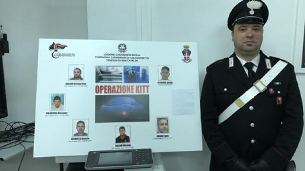 caltanissetta, operazione kitt, sei arresti, Sicilia, Archivio