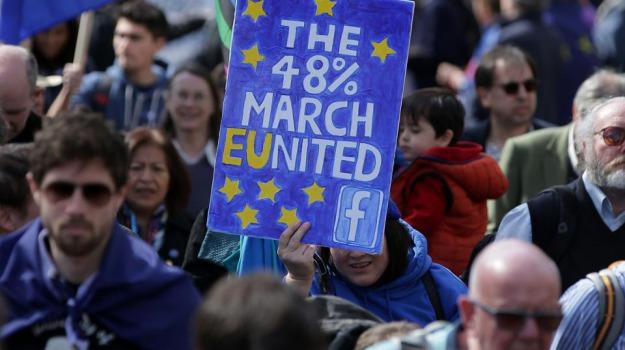 brexit, londra, ue, unione europea, Sicilia, Archivio, Cronaca