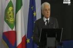 """Mattarella: """"mafiosi non hanno coraggio e onore"""""""