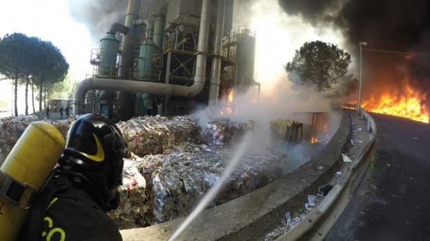incendio ex inceneritore, Messina, Archivio