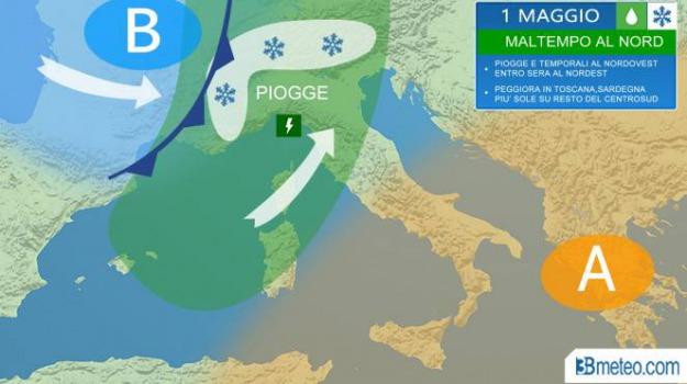 1 maggio, meteo, previsioni, primo maggio, Messina, Calabria, Archivio