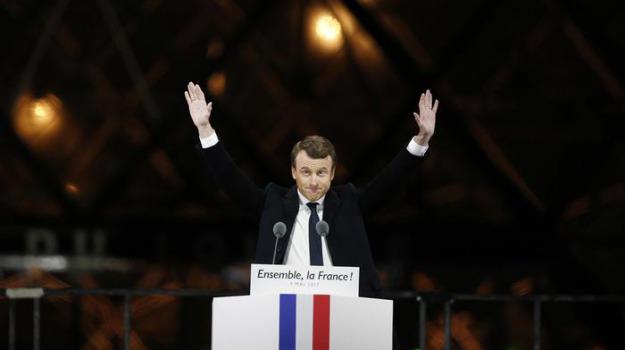 francia, macron, presidente, Sicilia, Archivio