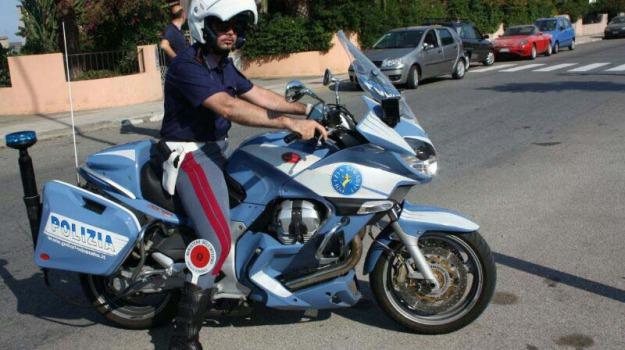 giro d'italia, polizia stradale, Messina, Archivio