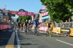 Giro, tappa a Gaviria, Jungels resta in rosa