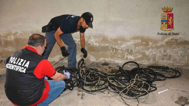 arrestato romeno, furto cavi di rame, ragusa, Sicilia, Archivio