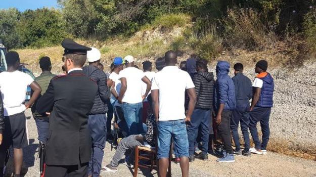 migranti, riace, Reggio, Calabria, Archivio