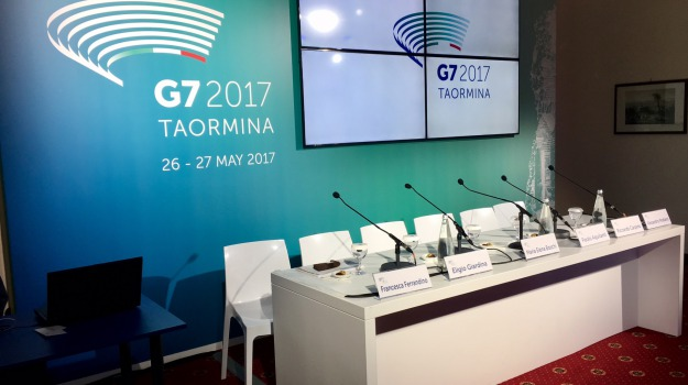 speciale g7, taormina, Messina, Sicilia, Archivio, Cronaca