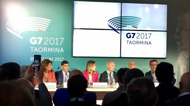 g7, pari opportunità, taormina, Messina, Archivio