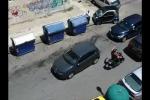 Via Sant'Agostino e il posteggio... creativo VIDEO