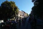 Giro, il passaggio dal corso Cavour - VIDEO