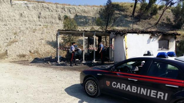 incendio, ristorante, roccella jonica, Reggio, Calabria, Archivio