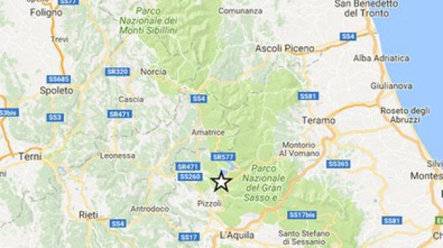 aquila, mappa, terremoto, Sicilia, Archivio, Cronaca