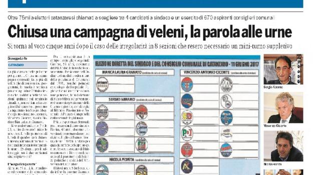 amministrative, calabria, elezioni, Catanzaro, Calabria, Archivio