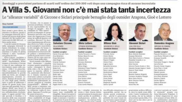 amministrative, calabria, elezioni, Reggio, Archivio