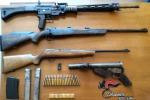 Due arresti per detenzione di armi e munizioni