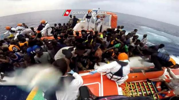 migranti, palermo, sbarch, trapani, Sicilia, Archivio
