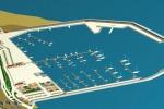 Il progetto del porto di Sant'Agata