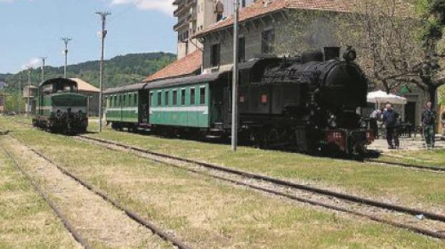 sila, trenino, Cosenza, Calabria, Archivio