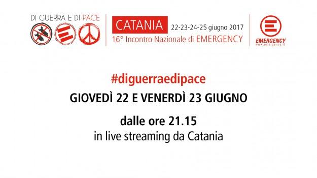 #DIGUERRAEDIPACE, catania, emergency, live streaming, Sicilia, Archivio