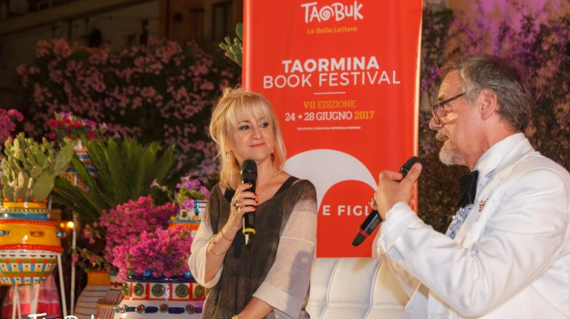 Luciana Littizzetto, Paolo Noseda, taobuk, taormina, Sicilia, Cultura